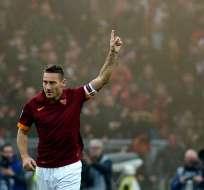 Francesco Totti cumple 40 años y recibió muchos saludos y felicitaciones.
