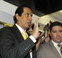José Cevallos dijo que Barcelona apelará sanción impuesta a Damián Díaz.