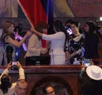 """QUITO, Ecuador.- La condecoración con el premio """"Manuela Sáenz"""" a la exmandataria argentina, Cristina Fernández, genera fricciones diplomáticas. Foto: API"""