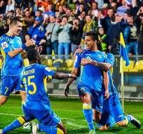 Christian Noboa marcó en la victoria del Rostov en la Liga Premier de Rusia.