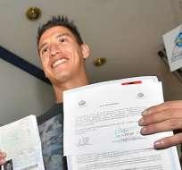 El jugador paraguayo jugó para Bolivia sin cumplir todos los requisitos. Foto: Archivo