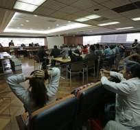 Piden condenar a excomandante general Fausto Tamayo y al teniente Alexis Cifuentes. Foto: Archivo de API