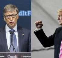 Bill Gates sigue siendo el hombre más rico con una fortuna valorada en 81.000 millones.
