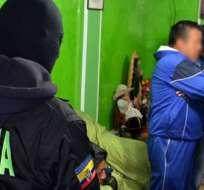 GUAYAQUIL, Ecuador.-Según la Fiscalia, gran parte de los detenidos tiene antecedentes penales. Foto: Referencial.