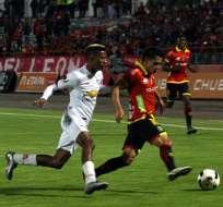 Deportivo Cuenca y Liga de Quito empataron sin goles en el Alejandro Serrano Aguilar.