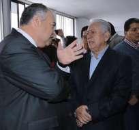 QUITO, Ecuador.- El expresidente de la FEF y 59 testigos participan en audiencia de juicio de Ecuafútbol. Foto: API