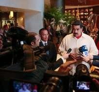 La solicitud de referéndum revocatorio la hicieron llena de ilegalidades, dijo Maduro. Foto: @PresidencialVen