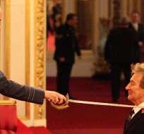 """LONDRES, Reino Unido.-""""Solo desearía que mi madre y mi padre hubieran estado aquí para verlo"""", dijo Stewart. Foto: EFE."""