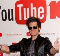 21 millones de seguidores y en aumento. El Rubius es uno de los 10 video bloggers más populares del mundo.
