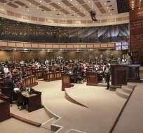 Hubo 92 votos afirmativos, 27 negativos y 2 abstenciones. Foto: Asamblea Nacional