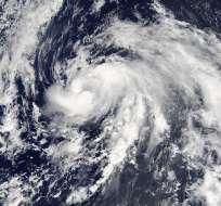 Nicole es el sexto huracán de la temporada ciclónica en la cuenca atlántica. Foto: EFE