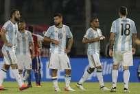 Los jugadores del combinado argentino analizaron el mal momento que atraviesa la selección en eliminatorias.