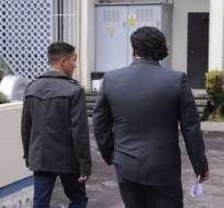 QUITO, Ecuador.- El testimonio es parte de la investigación sobre presuntos entrenamientos a civiles. Foto: API