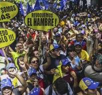 """Portavoz de oposición pidió al chavismo """"prepararse para lo que viene"""". Foto: Archivo de EFE"""