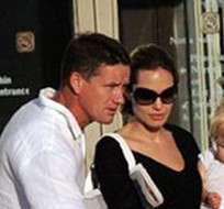 Angelina Jolie y Brad Pitt contrataron a un excomando inglés para protegerlos.