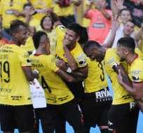 El conjunto amarillo es el actual puntero del torneo nacional. Foto: API