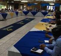 ECUADOR.- El partido Avanza difunde su estrategia al interior de la Asamblea del 2017. Foto: Archivo