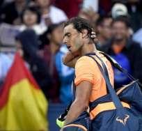 El tenista español aseguró que sus médicos le recomendaron no jugar. Foto: AFP
