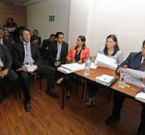 QUITO, Ecuador.- Hoy se realiza audiencia de vinculación contra 17 implicados por corrupción Petroecuador. Foto: API