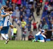 El equipo de Barcelona iba perdiendo 3-0 tras el primer tiempo. Foto: EFE