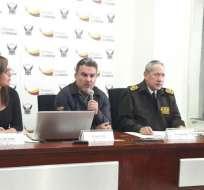 QUITO, Ecuador.- Ecuador pidió a Interpol emitir una circular roja contra involucrados en caso Petroecuador. Foto: Twitter Ministerio del Interior.