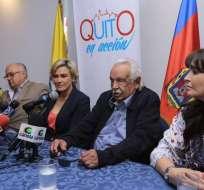 Exalcalde de Quito descartó que su hijo Esteban Paz sea candidato a vicepresidente. Foto: @panchogarces
