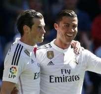El galés Gareth Bale y el portugués Cristiano Ronaldo están nominados al Balón de Oro.