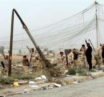 BARTILA, Irak.- La ofensiva contra Mosul comenzó el pasado lunes 17 con un ataque por los frentes norte, este y sur de la capital de Nínive. Foto: EFE.