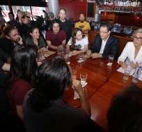La candidata presidencial dijo que en los próximos días analizaría alianzas posteriores. Foto: API