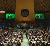NACIONES UNIDAS.- Por primera vez, Estados Unidos se abstuvo en la ONU en un voto de condena al embargo sobre Cuba. Foto: AFP.