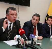 QUITO, Ecuador.- El Colegio de Abogados de Pichincha exige sanciones fuertes en caso de Petroecuador. Foto: API