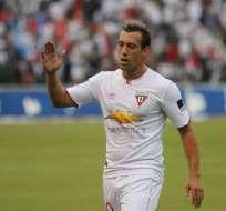 Brahian Alemán protagonizó dos polémicas durante y después del empate de Liga de Quito.