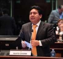 ECUADOR.- Según reporte del ECU 911, el legislador quedó insconciente y luego falleció de un paro. Foto: Archivo