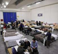 ITALIA.- Alrededor de 4.000 personas abandonaron sus casas tras los terremotos desde el miércoles. Foto: EFE