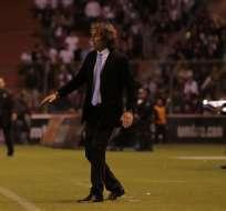 El entrenador uruguayo llegó a Barcelona en 2015 en reemplazo de Rubén Israel. Foto: API