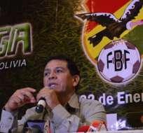 Rolando López asegura que hay una confusión en la comunicación de la FIFA. Foto: Tomada de www.diez.bo
