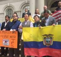 El Gobierno ecuatoriano solicitó el TPS tras el fuerte terremoto del 16 de abril de 2016. Foto: Archivo / Andes