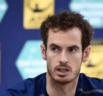 El tenista escocés es el primer británico en llegar al número 1 del mundo. Foto: AFP