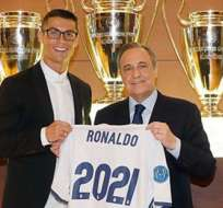 El portugués Cristiano Ronaldo renovó por cinco temporadas más con el Real Madrid.