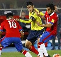 Colombia recibe al combinado chileno en el Metropolitano de Barranquilla.