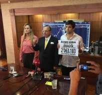 Noboa había anunciado el 22 de octubre de 2016 que correría nuevamente por la presidencia.