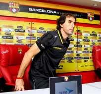 La madre del entrenador de Barcelona, Guillermo Almada, dejó de existir en Uruguay.