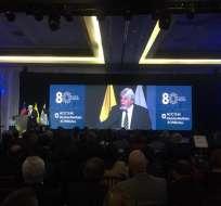 Evento contó con presencia de Adrián Werthein, presidente del Consejo Interamericano de Comercio y Producción en Argentina. Foto: @CamaraCIP