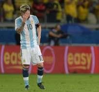 Lionel Messi es uno de los jugadores más cuestionados del equipo. Foto: AFP