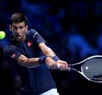 El serbio Novak Djokovic remontó y ganó el juego inaugural del Masters ATP.