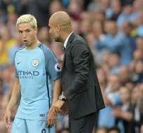"""El francés Samir Nasri, actualmente en Sevilla, habló de las """"reglas"""" de Guardiola en el Manchester City."""
