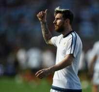 El delantero argentino ha ganado 5 veces el balón de oro. Foto: AFP