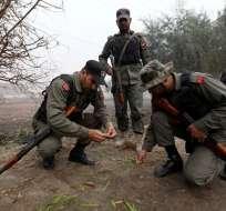 Las fuerzas indias también abrieron fuego contra una ambulancia, según el gobierno de Pakistán. Foto: EFE