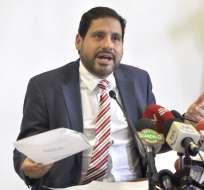 El asambleísta oficialista presentará el pedido por delito de lavado de activos.  Foto: api