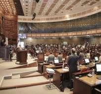 Oficialmente la normativa no ha llegado a la Asamblea, indicó asambleísta de PAIS. Foto: Asamblea Nacional